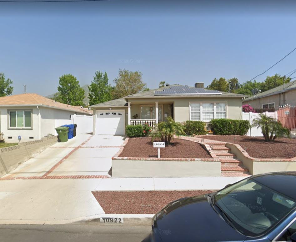 10922 WHITEGATE AVE. SUNLAND, CA 91040